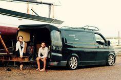Stitches and Steel Vw Transporter Van, Vw T5, Volkswagen Bus, Vw Camper, Combi Vw, Mode Of Transport, Trailer, Campervan, Van Life