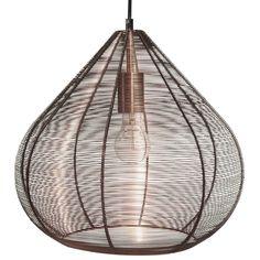 Lámpara de techo de metal D 39 cm COMORES