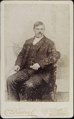 www.pastonpaper.com | Carte de Visite of Unidentified Male, Manchester, 1870s Facial Hair, Old Photos, Manchester, Painting, Carte De Visite, Old Pictures, Face Hair, Vintage Photos, Painting Art