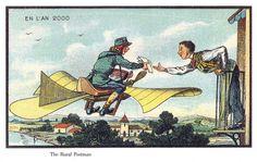 Carteros voladores