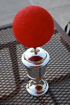 kickball/dodgeball centerpiece or trophy?  kickball.com