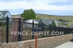 Retaining Wall With Fence Above Design Pinterest