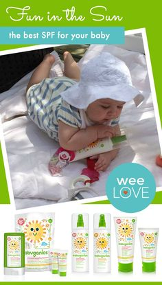 A safe sunscreen that's actually easy to apply to your little squirmer!