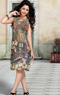 Picture of Exquisite Multicolor Designer Tunic