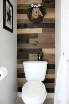 Small Nautical Bathroom Makeover With Tons Of Diy Ideas Coastal Bathrooms Pinterest And