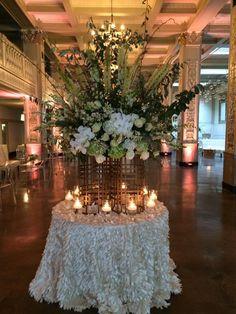Floral and design by Le Fleur