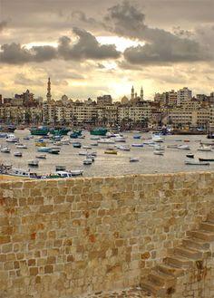 Alexandria Harbor (Acts 27:6)