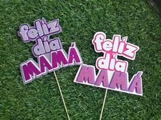 Ideas Para Fiestas, Mom Day, Mickey Mouse Birthday, Baby Girl Fashion, Silhouette Cameo, Gifts For Mom, Cake Toppers, Diy And Crafts, Lettering