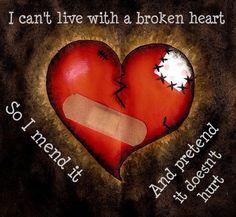 Broken heart broken hearts quotes Heart Ache Sadness Depression Breakup