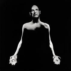 Brian Eno, 1990 by Anton Corbijn