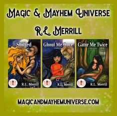From Assjacket to the Bayou R. L. Merrill takes you on a Magical Shifting Adventure in the Magic & Mayhem Universe.   #MagicMayhemUniverse #ebook #pnr #UnleashTheMagic #MMUSeries #paranormal #author #reading