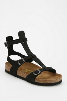 Birkenstock Chania Caged Leather Sandal