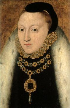 c Queen Elizabeth I Another anonymous portrait. Her brooch is not the same one her sister Mary Tudor wore in portraits. Elizabeth I, Tudor History, British History, Art History, History Facts, Family History, Anne Boleyn, Adele, Rey Enrique