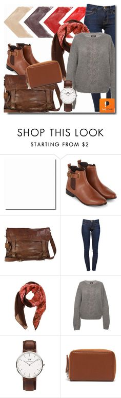 """""""Popmap 22"""" by goldenhour ❤ liked on Polyvore featuring Accessorize, Frame Denim, Daniel Wellington and Carré Royal"""
