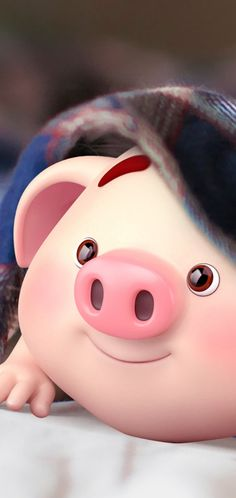 34 Ideas Funny Wallpapers Phone Illustrations For 2019 Pig Wallpaper, Cute Wallpaper Backgrounds, Cute Cartoon Wallpapers, Disney Wallpaper, Iphone Wallpaper, Wallpaper Wallpapers, Pig Illustration, Illustrations, Cute Piglets
