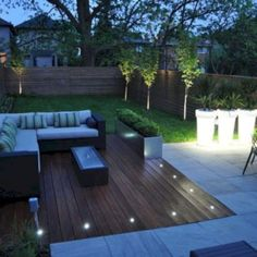 Brilliant ideas for small decked garden 34