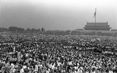 Rare Photos Of China's 1989 Tiananmen Square Protests : The Picture Show : NPR