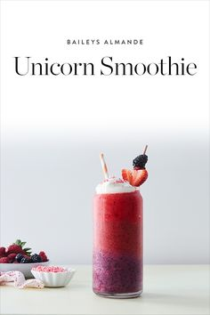 Unicorns are a thing of whimsical beauty, and this @BaileysUS Almande fruit smoothie is no different. — via @PureWow