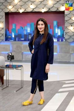 """""""💙 Click Photo For More 💙"""" - We bring you the most gorgeous girls in Pakistan. Party Wear Indian Dresses, Pakistani Fashion Party Wear, Indian Fashion Dresses, Indian Designer Outfits, Party Dress, Indian Fashion Trends, Dress Indian Style, Beautiful Pakistani Dresses, Pakistani Dresses Casual"""