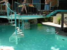 cool pool I really like the stairs!