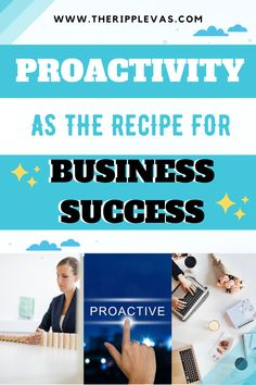 Proactivity involves thinking ahead and acting on anticipated events. In the context of organizations, companies, and industries, proactive behavior is defined as the behavior of anticipating possibilities, gaining control over situations, and initiating actions. Proactive companies are capable of thinking ahead that will lead to business success. CLICK HERE to know a clearer perspective to businesses and organizations about proactivity. Own Your Own Business, New Business Ideas, Starting Your Own Business, Business Tips, Online Business, Business Entrepreneur, Business Marketing, Social Media Marketing, Digital Marketing