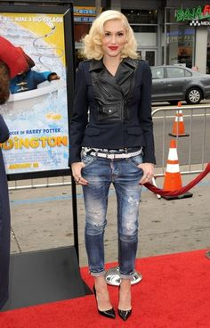 Gwen Stefani in Stars at the 'Paddington' Premiere
