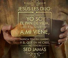 """""""Jesús es el Pan de vida"""""""