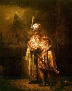 David et Jonathan, par Rembrandt van Rijn