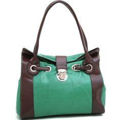 Belted Matte Croco Texture Shoulder Bag W/ Buckle « Clothing Impulse