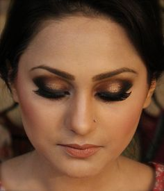 Brown Smokey Eye  this is totally anniversary eyes!!!!!