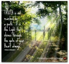 Truth is the light