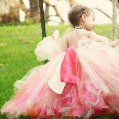 baby girl tutu dress flower girl tutu dress by pinkgiraffebowtique, $84.95