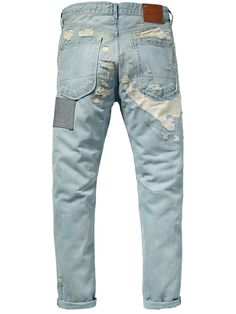 Vernon - Platinum grey | Denims | Men\u0027s Clothing at Scotch \u0026 Soda | Denim  Junkie | Pinterest | Scotch soda and Men\u0027s jeans