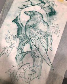 """Dan Fletcher on Instagram: """"Rough sketches up for grabs. I have time this Saturday. Dm me if you are interested in any of these"""" Cover Up Tattoos, Body Art Tattoos, Sleeve Tattoos, Traditional Tattoo Sketches, Neo Traditional Tattoo, Crow Spirit Animal, Crows Drawing, Tattoo Fixes, Animal Doodles"""