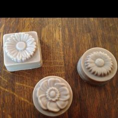 Got more molds for solid lotion bars.  Coloring was not as successful as I'd hoped.