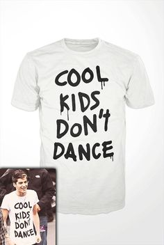 One Direction T-Shirt - zayn malik, cool kids don't dance, tee shirt, mens, womens, gift, harry styles, niall, liam, louis, funny, celebrity on Etsy, $16.99