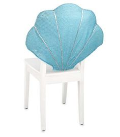 sequin seashell chair cover-Chasing Fireflies $14.00 so cute!