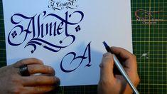 Kaligrafide süsleme teknikleri - Abdurrahman Cesaret - Verzierung Schnör...