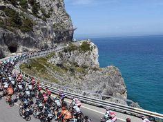Giro D'Italia Stage 2 - The coastal route took the riders 177km into Genoa