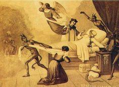 Alegoría del suicidio de Balmaceda, marca el fin de la Guerra Civil de 1891