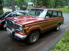 jeep-grand-wagoneer -  I'd love to see one of these in my driveway