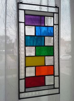 New Rainbow Colors and Crystal Bevels by ClearViewGlass on Etsy