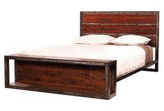 Copenhagen Bed, Pecan   Timeless Design   One Kings Lane