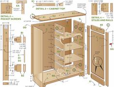 Plans to build Cabinets Plans PDF download Cabinets plans The leading guide on how to build cabinets and cabinet construction with step by step instructions from DIY and