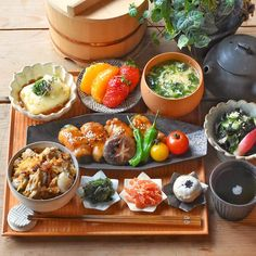Japanese Dinner, Japanese Food, Asian Recipes, Healthy Recipes, Food Places, Dinner Sets, Food Presentation, Food Plating, Food Photography