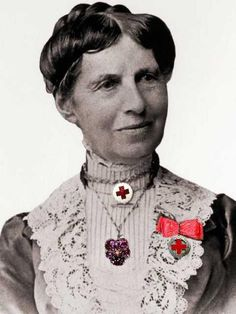 "Not only did Clara Barton found The Red Cross - but she also demanded #equal_pay!   Happy National #Nurses Week! Today we honor Red Cross Founder Clara Barton. Don't forget to thank a nurse!    ""I may sometimes be willing to teach for nothing, but if paid at all, I shall never do a man's work for less than a man's pay."" – Clara Barton"