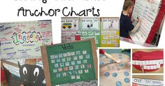 Are you down for some anchor chart L-O-V-E?!  I wanted to share with you how I use anchor charts all.the.time in my classroom.   There are ...