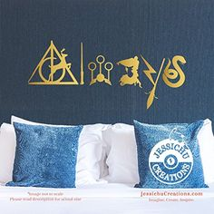 Always v1 - Harry Potter Inspired Geeky Book Wall Vinyl Decal