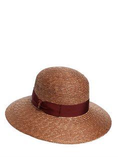 BORSALINO PAMELA BRAIDED STRAW HAT 0abf6450170c