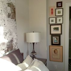 Learn the designer way to create a gallery wall in your home